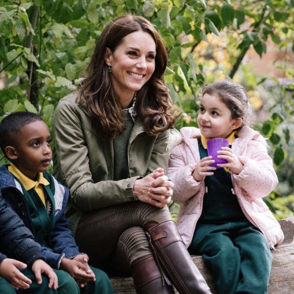 Forest School Getting a Royal Visit